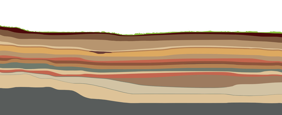 footer image of sedimentary layers