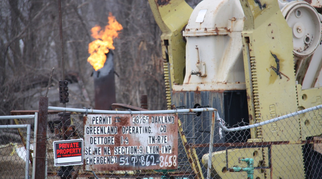 Michigan Oil & Gas Monthly March 2015