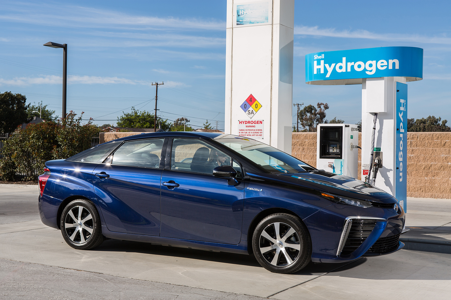 Toyota Mirai Fuel Cell Electric Vehicle