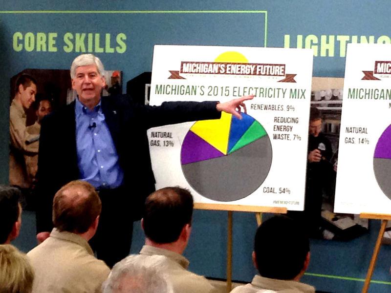 Governor Snyder Michigan's Energy Future