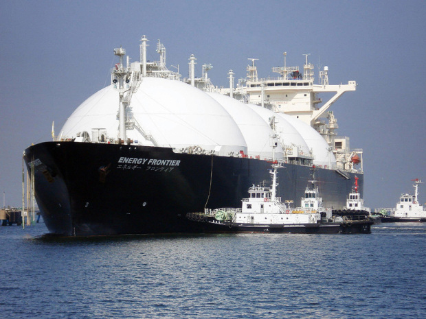 LNG ocean vessel ship liquified natural gas