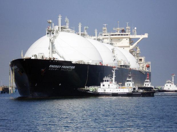 LNG ocean vessel ship liquified natural gas
