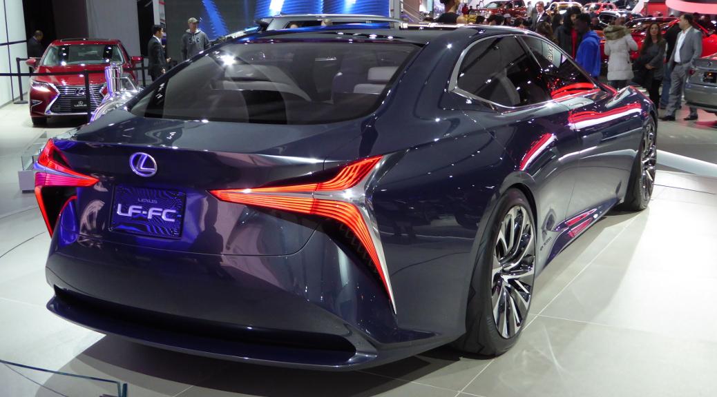 lexus fuel cell concept LF-FC