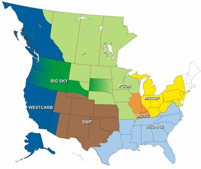 Regional Carbon Sequestration Partnerships (RCSPs)