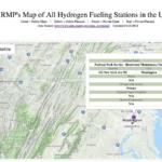 hydrogen station map