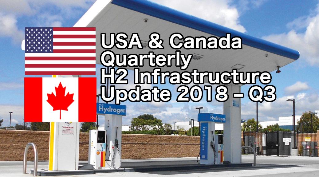 USA & Canada Quarterly H2 Infrastructure Update 2018-Q3