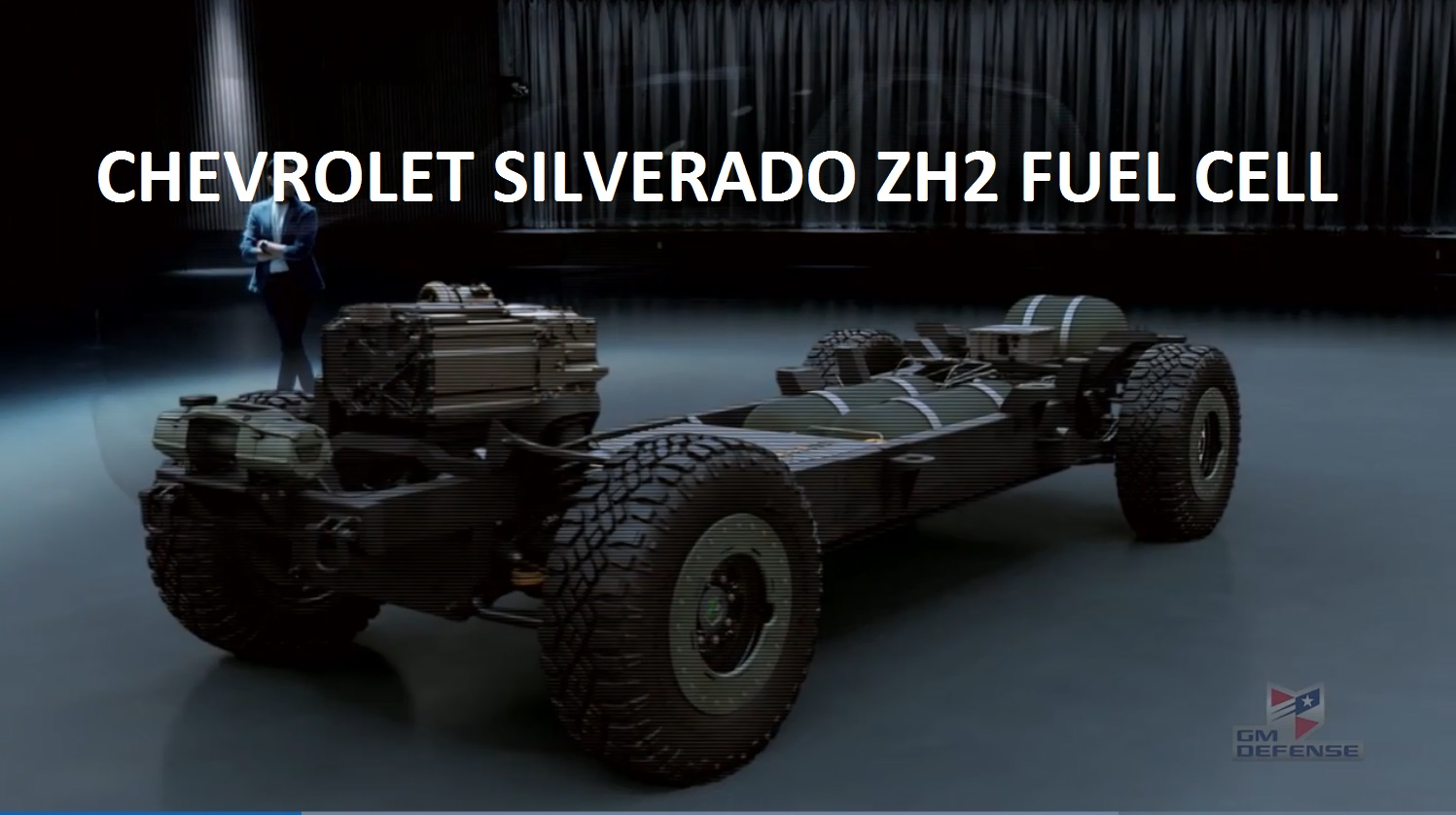 General Motors Defense LLC – Full Size Fuel Cell Pickup Truck – The ZH2