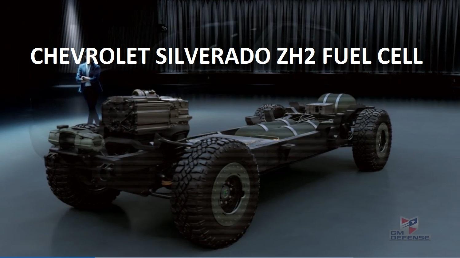 General Motors Defense LLC – Full Size Fuel Cell Pickup Truck – The ZH2