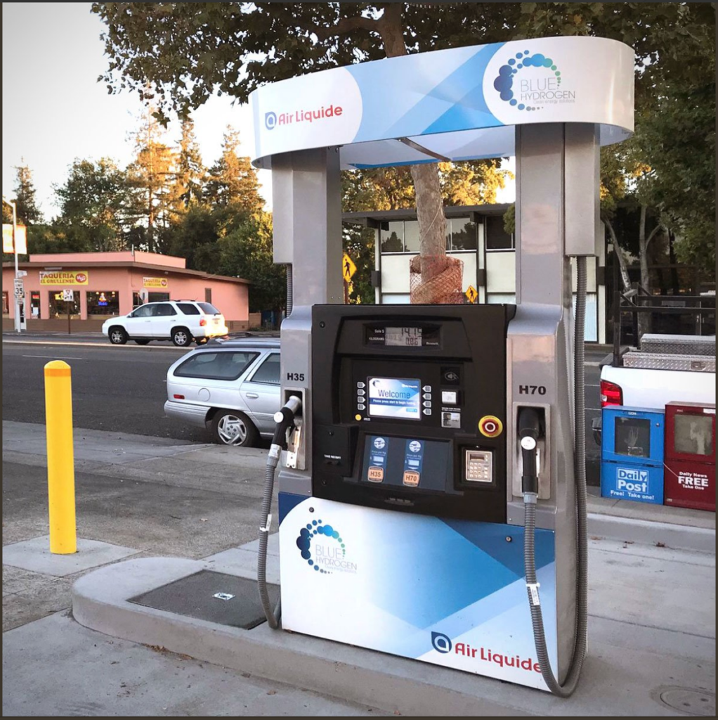 Palo Alto Hydrogen Refueling Station