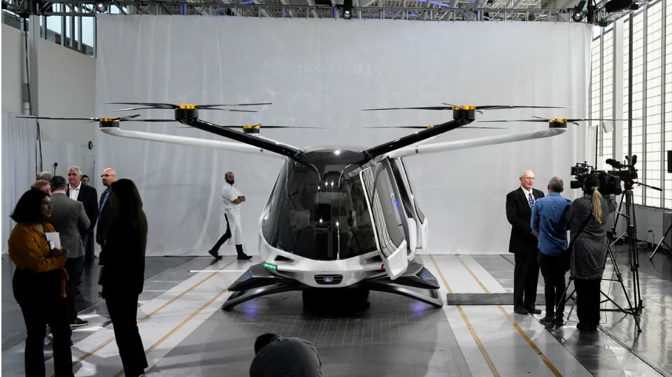 skai air taxi hydrogen