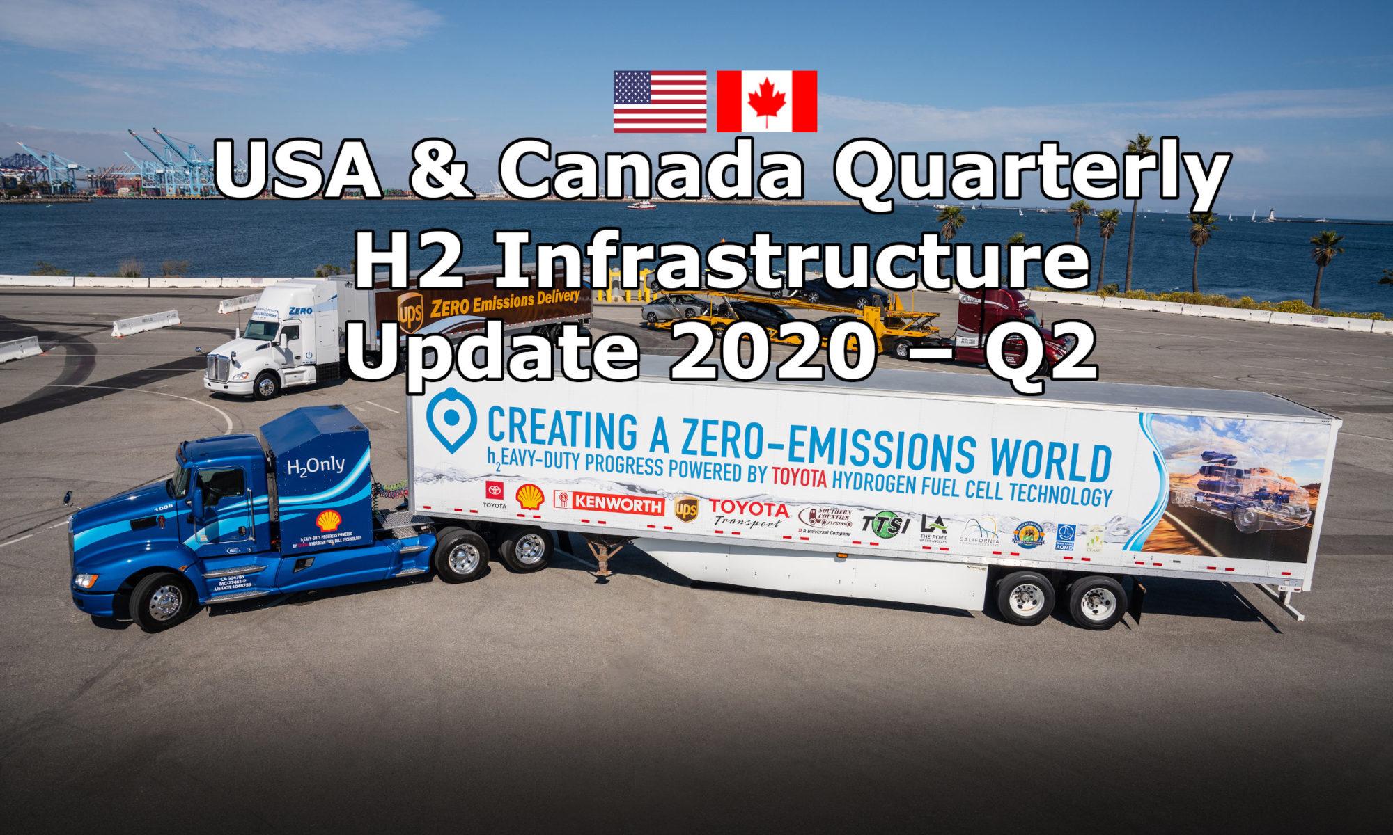 USA & CANADA QUARTERLY H2 INFRASTRUCTURE UPDATE 2020-Q2