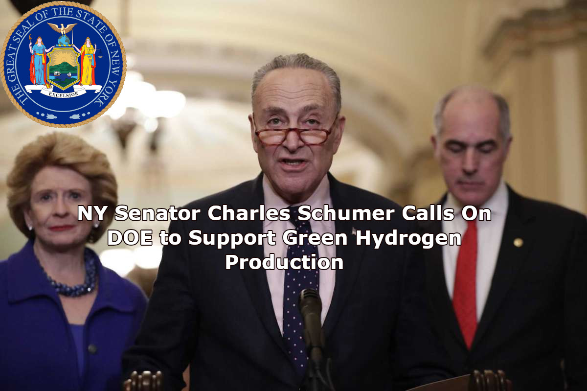 Senator Charles Schumer Calls on DOE to Support Green Hydrogen Production